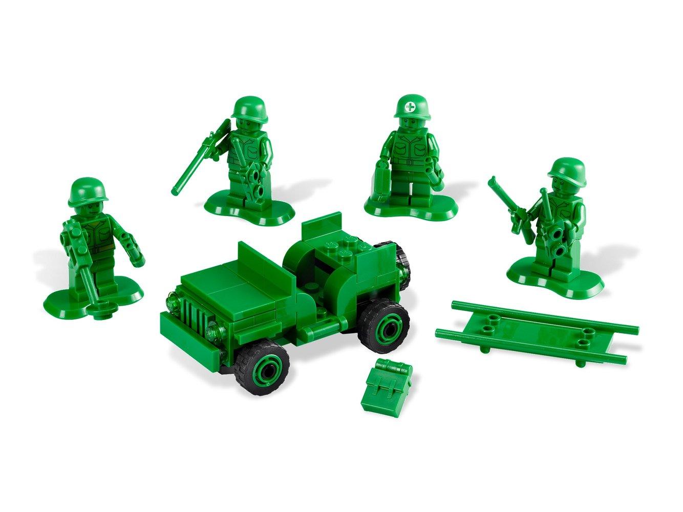 Army Men on Patrol