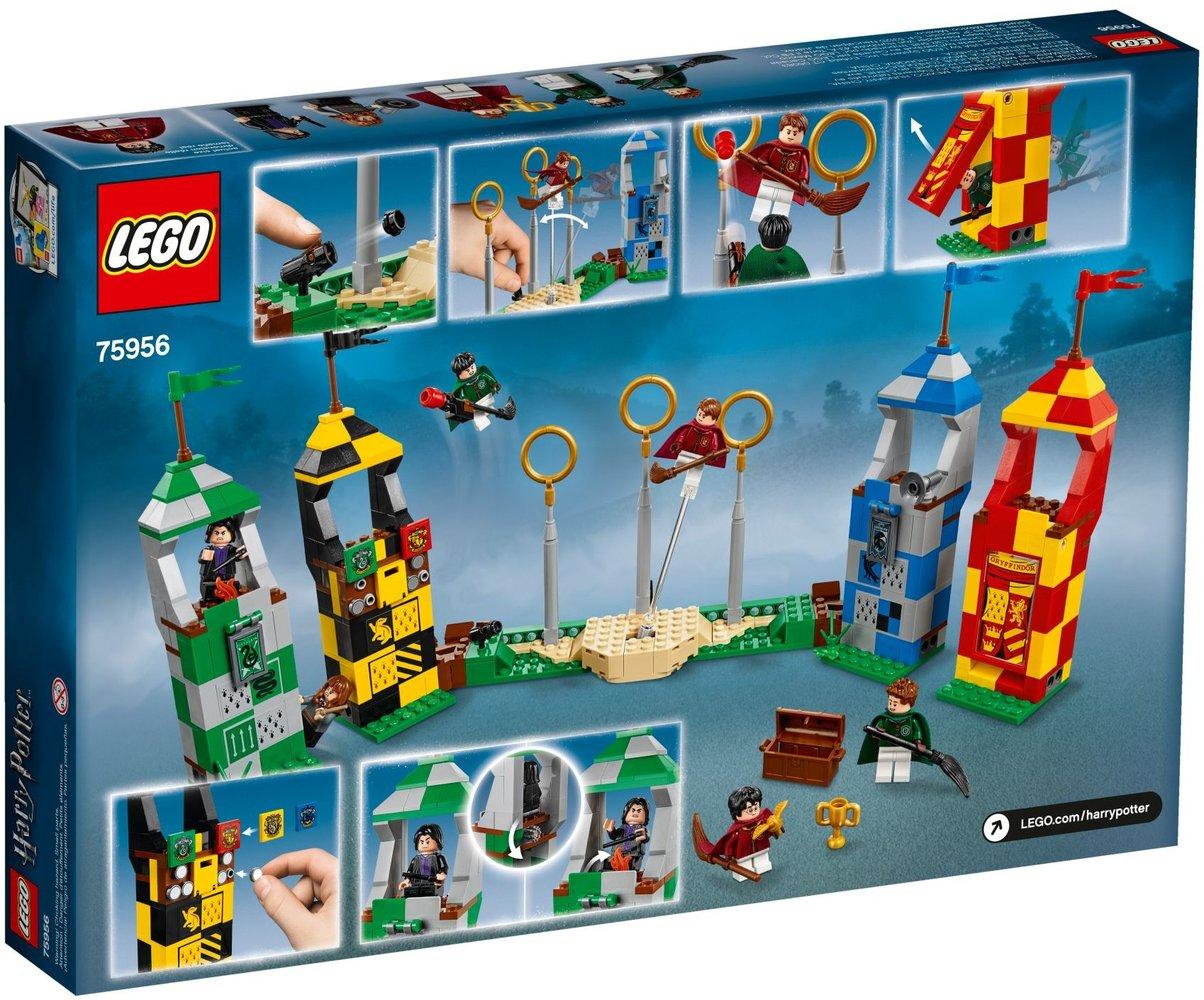 Lego Harry Potter 75956 pas cher, Le match de Quidditch