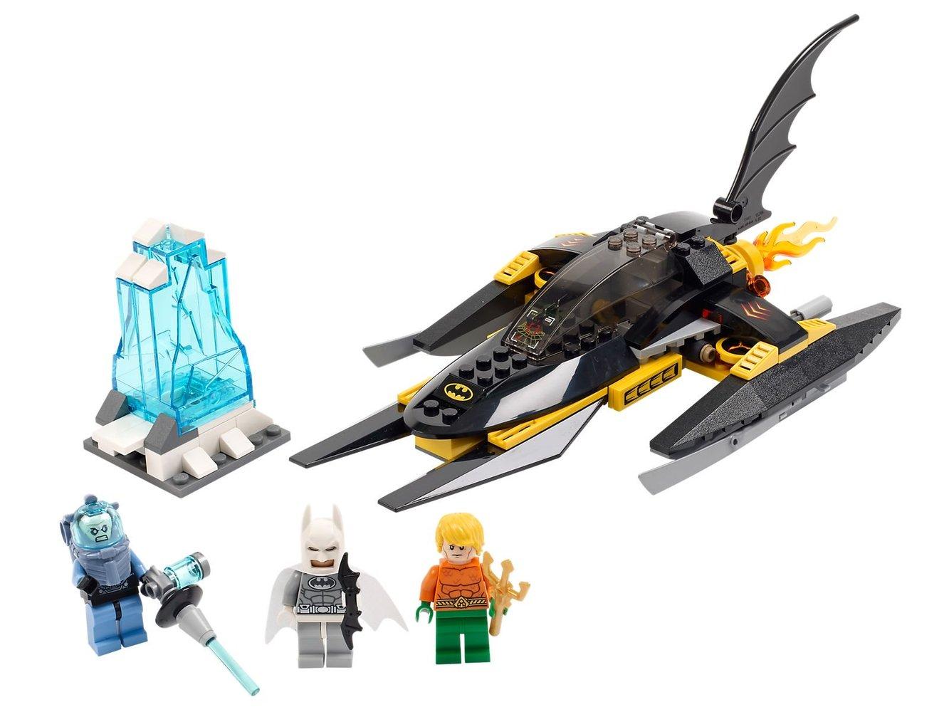 Arctic Batman vs. Mr. Freeze: Aquaman on Ice