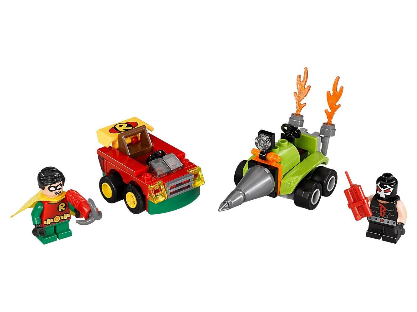 Mighty Micros: Robin vs. Bane