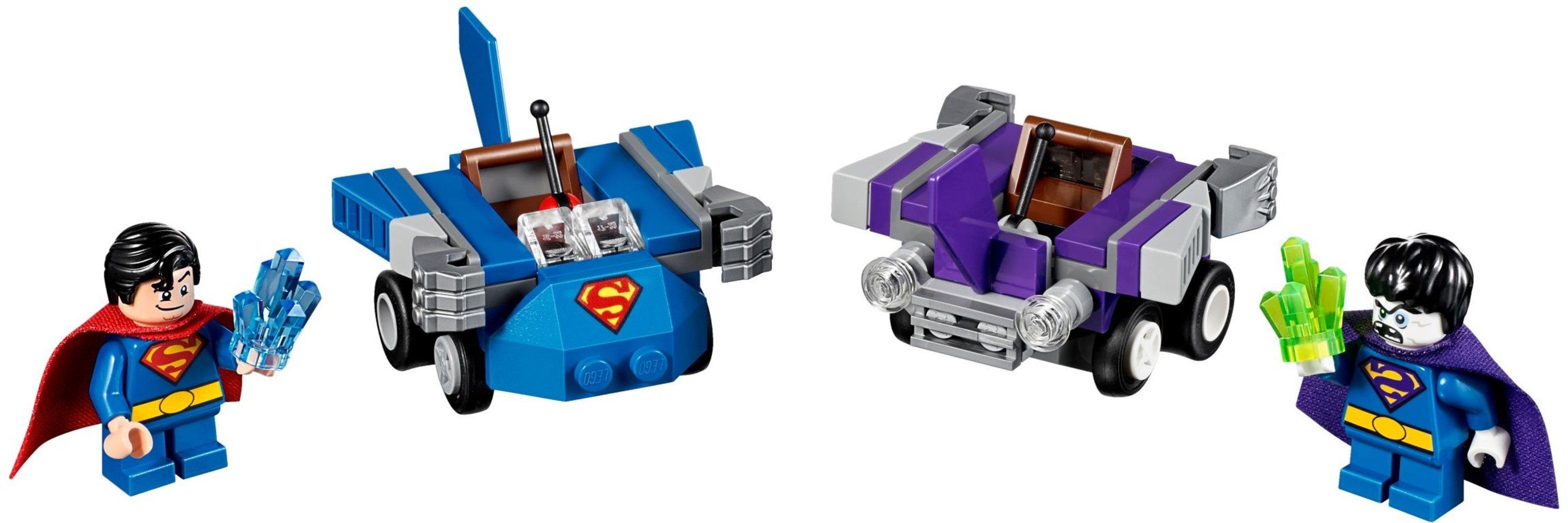 Mighty Micros: Superman vs. Bizarro
