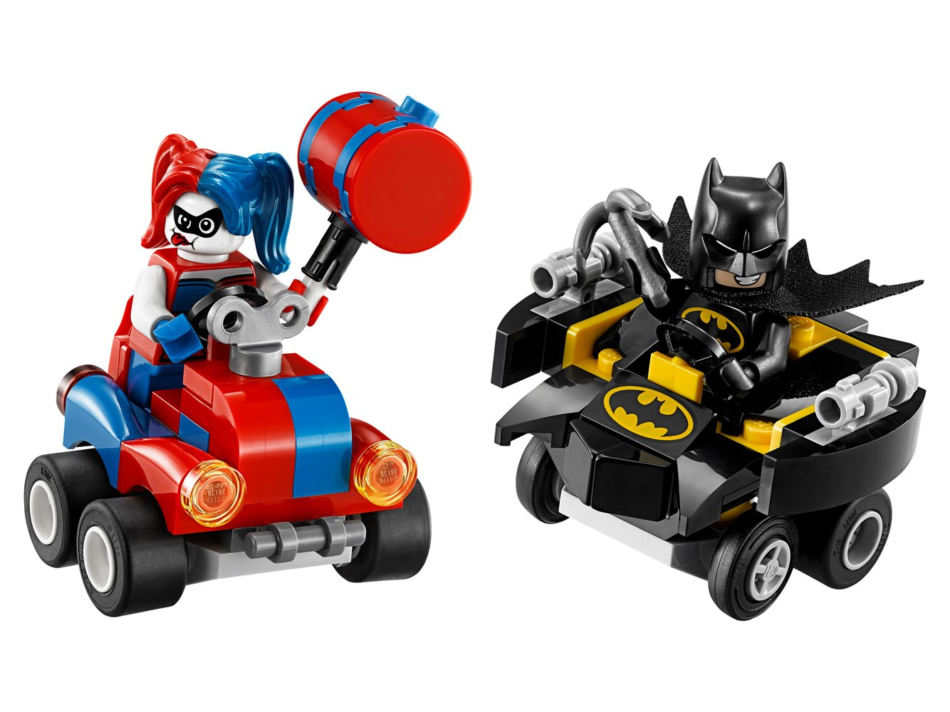 Mighty Micros: Batman vs. Harley Quinn