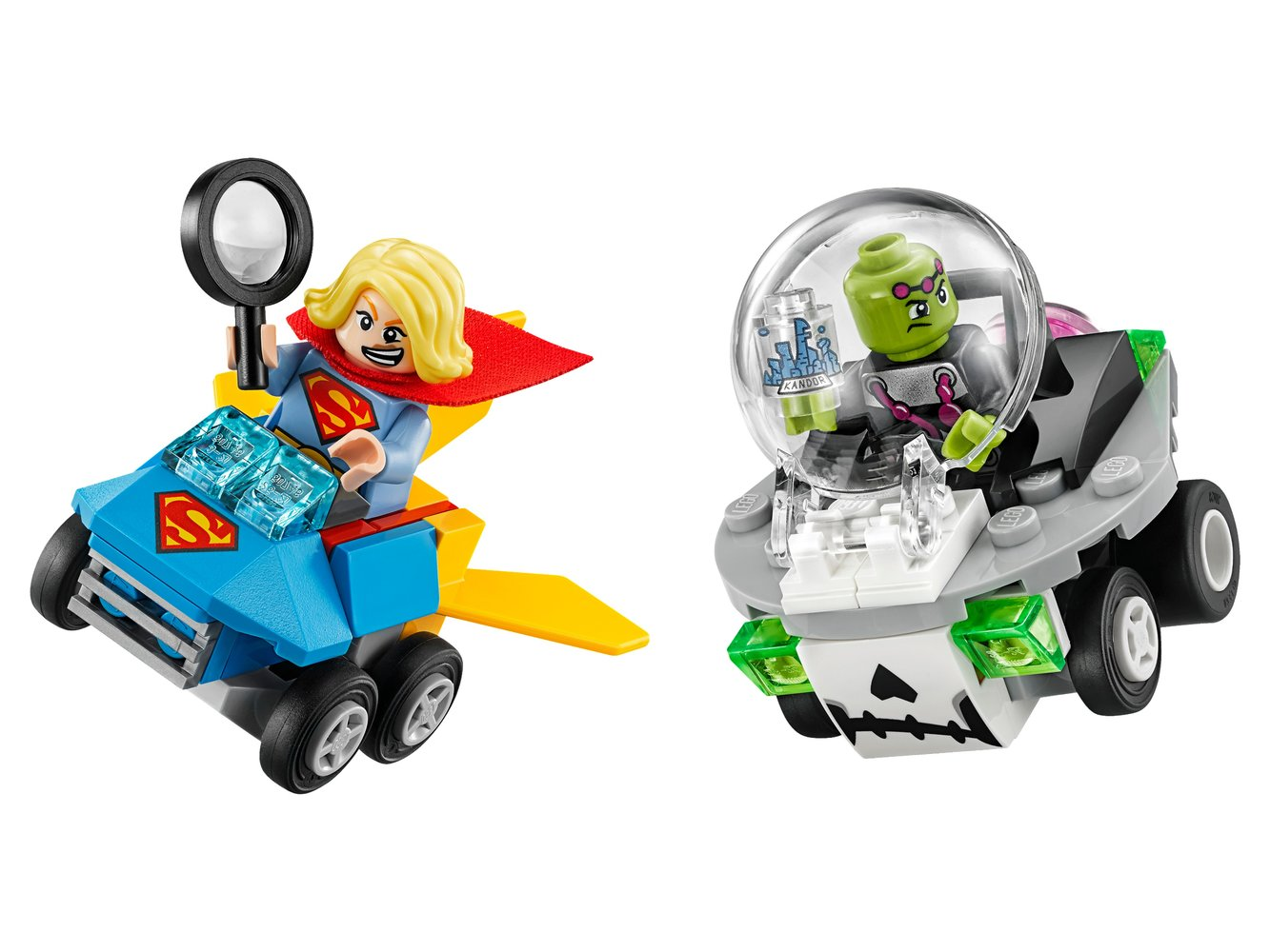 Mighty Micros: Supergirl vs. Brainiac