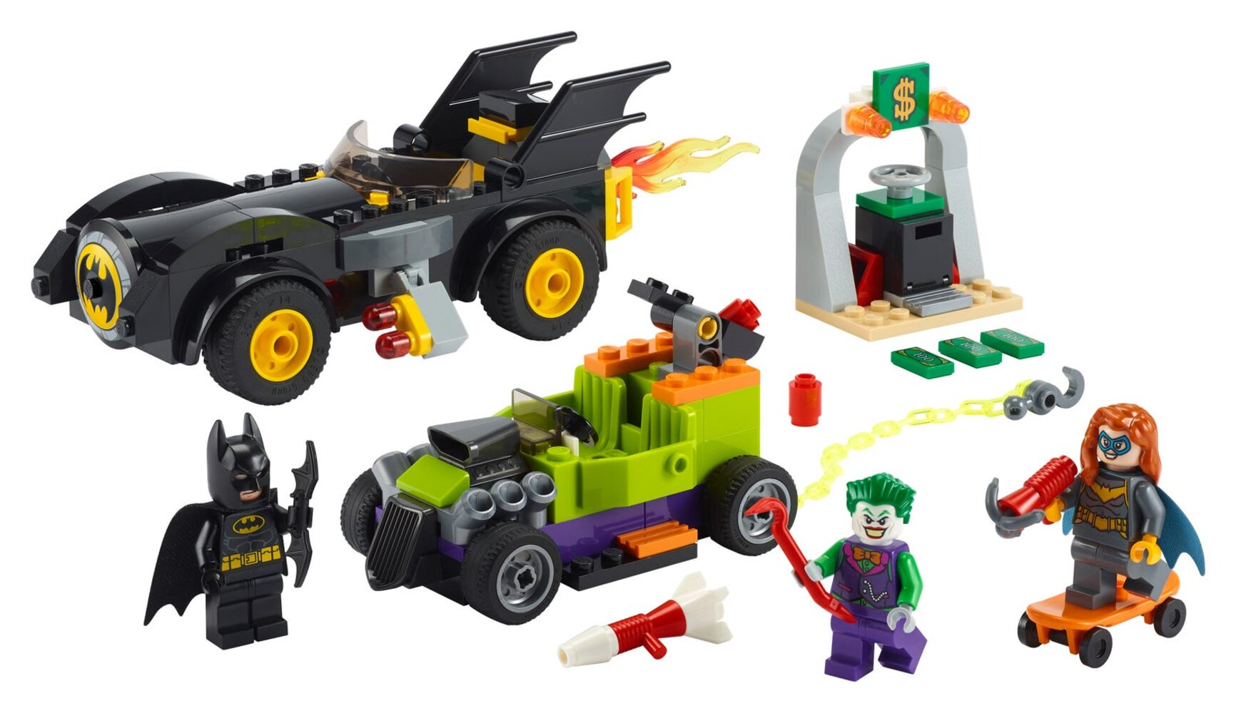 Batman vs. The Joker: Batmobile Chase