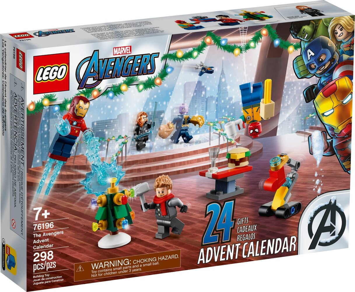 Marvel The Avengers Advent Calendar 2021