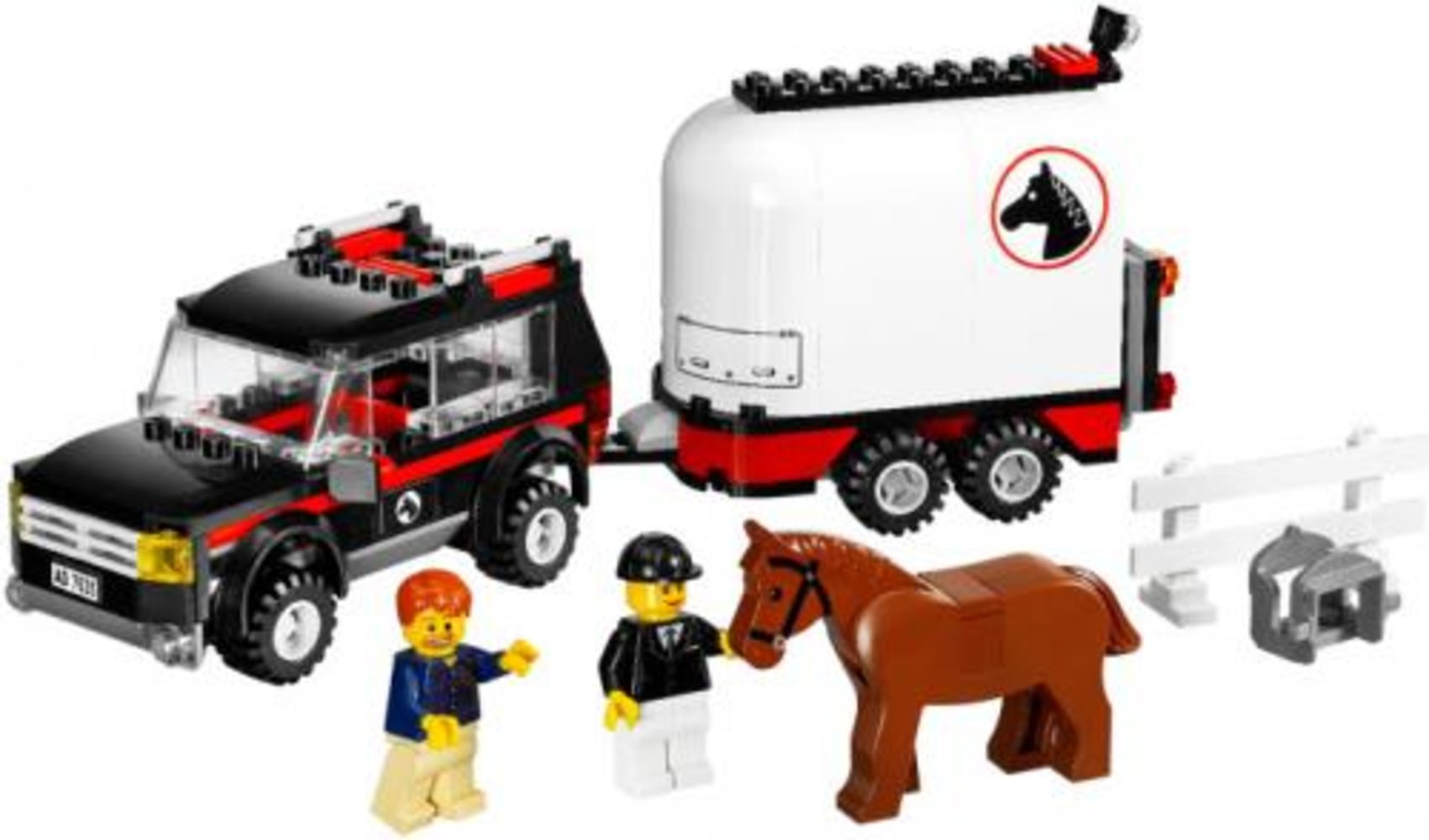 4WD with Horse Trailer