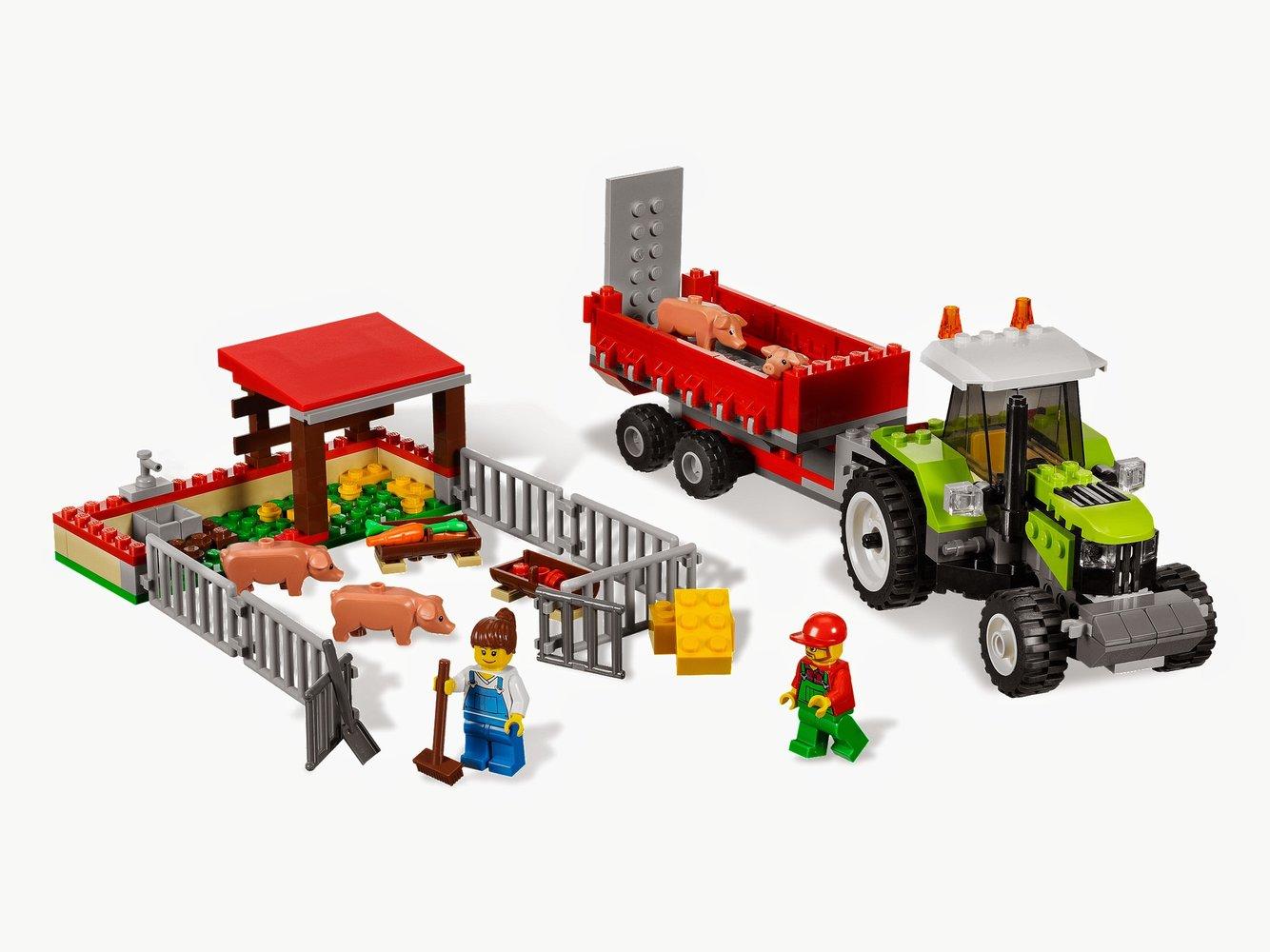 Pig Farm & Tractor