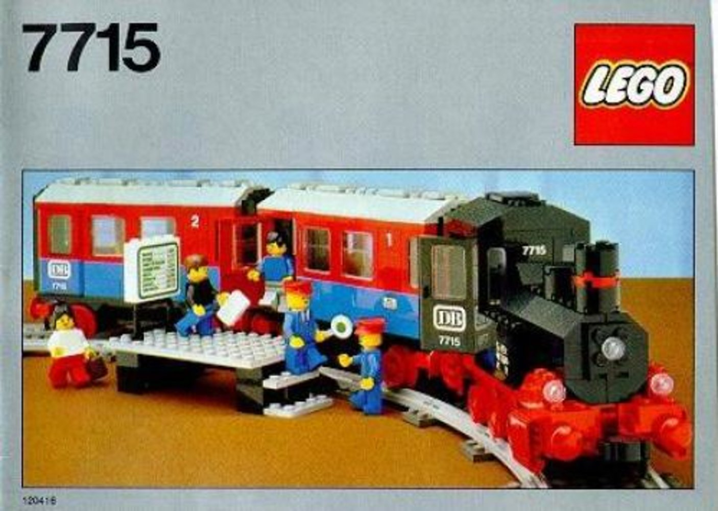 Push-Along Passenger Steam Train
