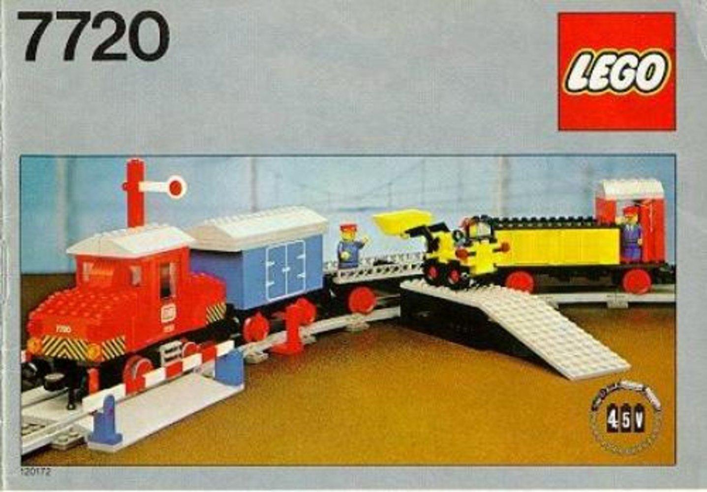 Diesel Freight Train Set, battery
