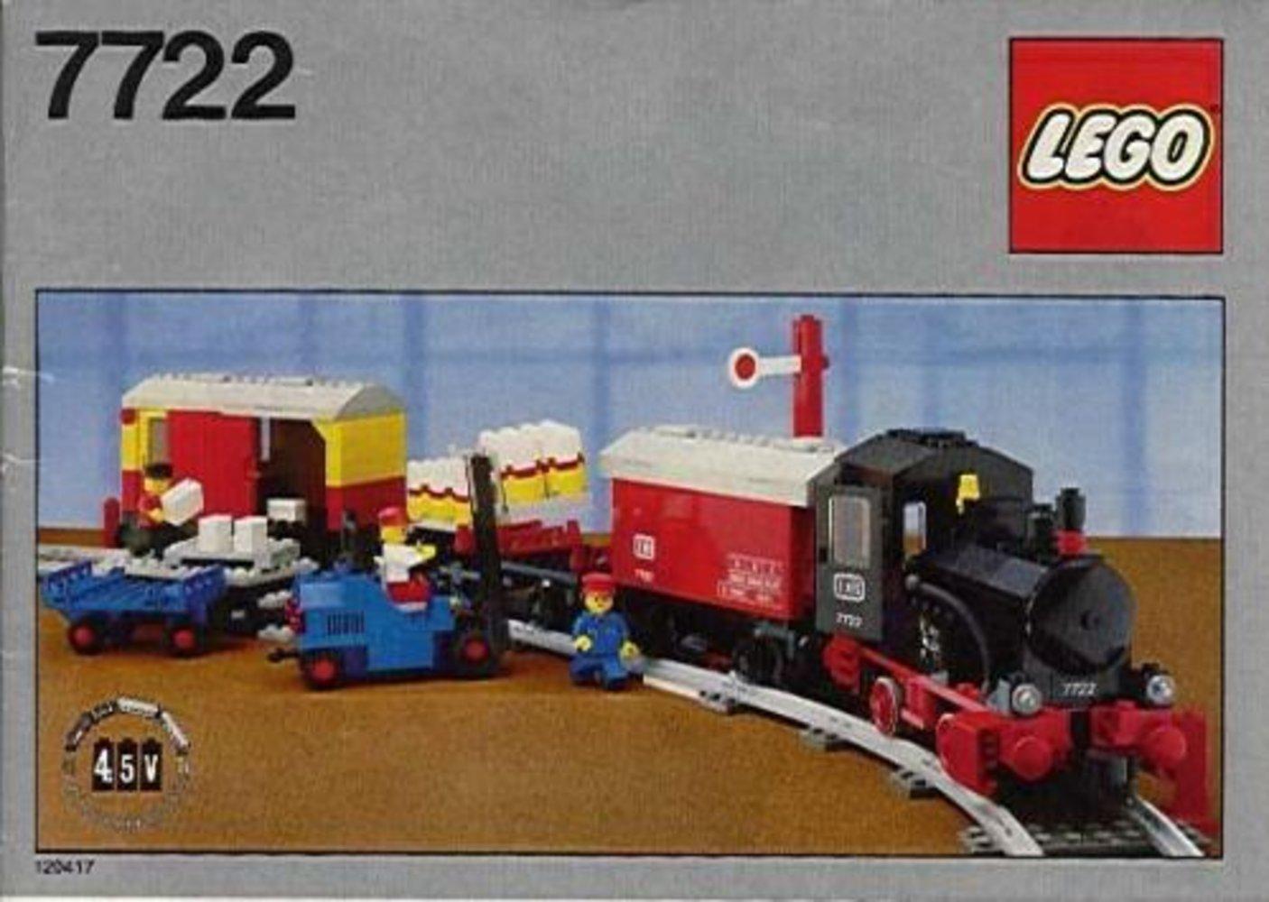 Steam Cargo Train, battery