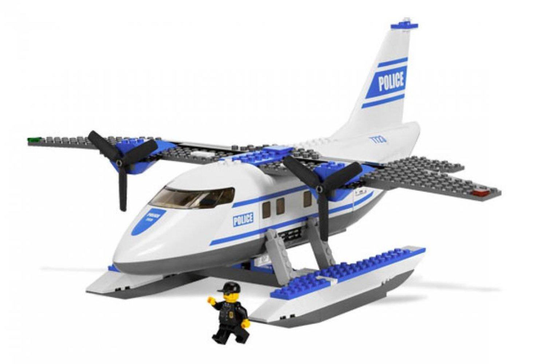 Police Pontoon Plane