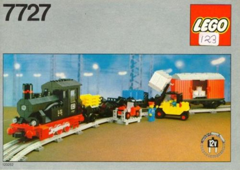 Freight Steam Train
