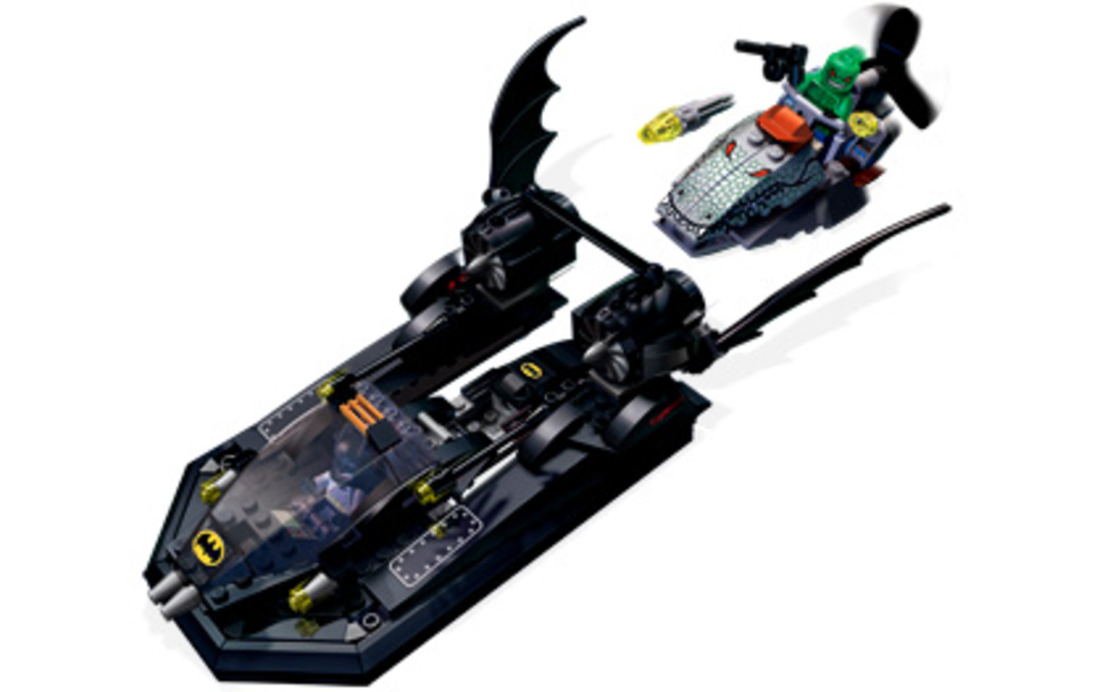 The Batboat: Hunt for Killer Croc