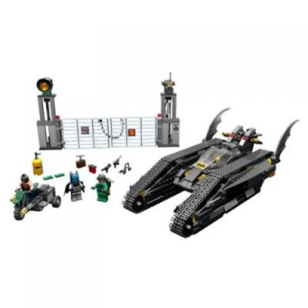 The Bat-Tank: The Riddler and Bane's Hideout