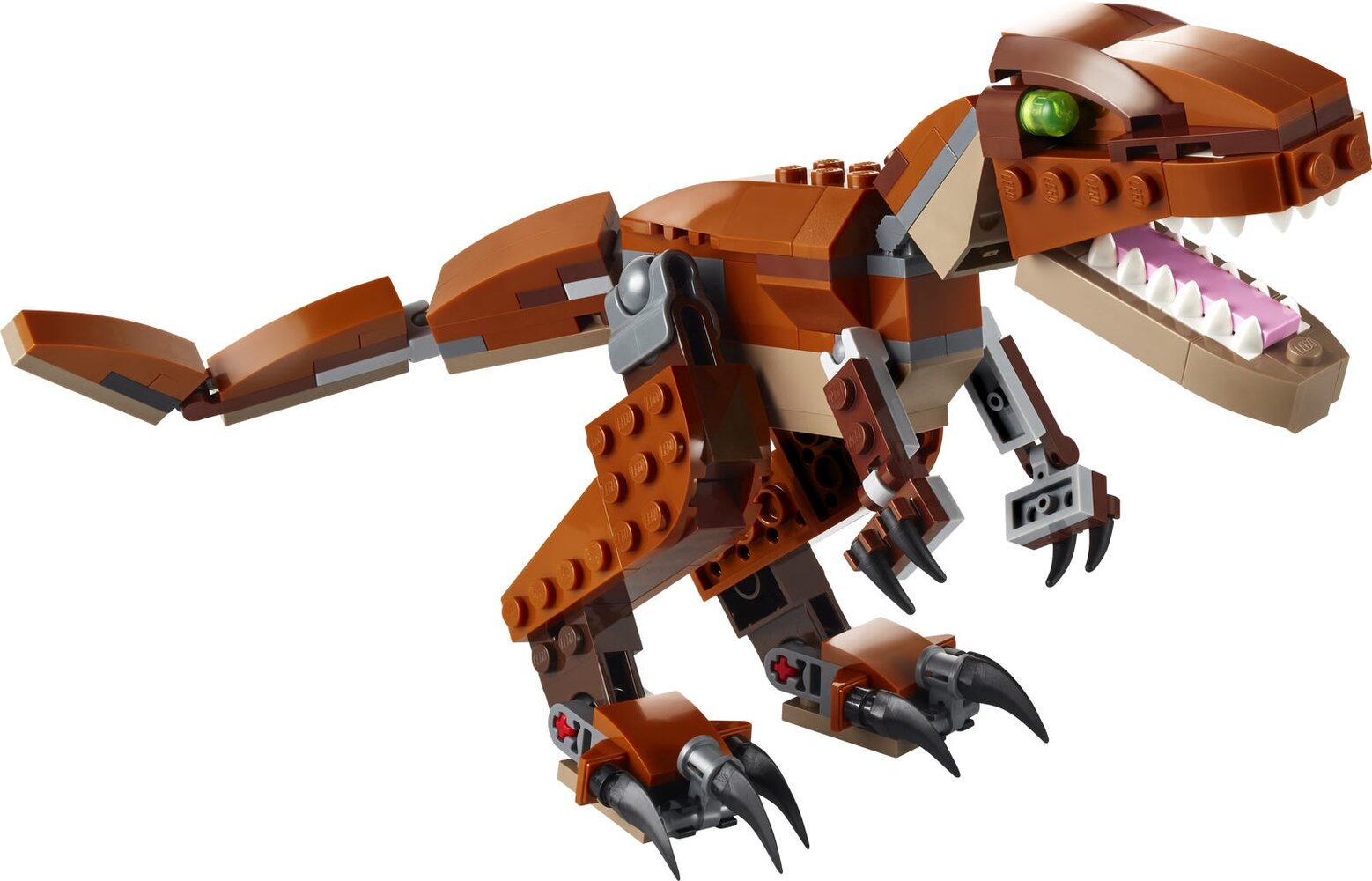 Mighty Dinosaurs - Brown Version