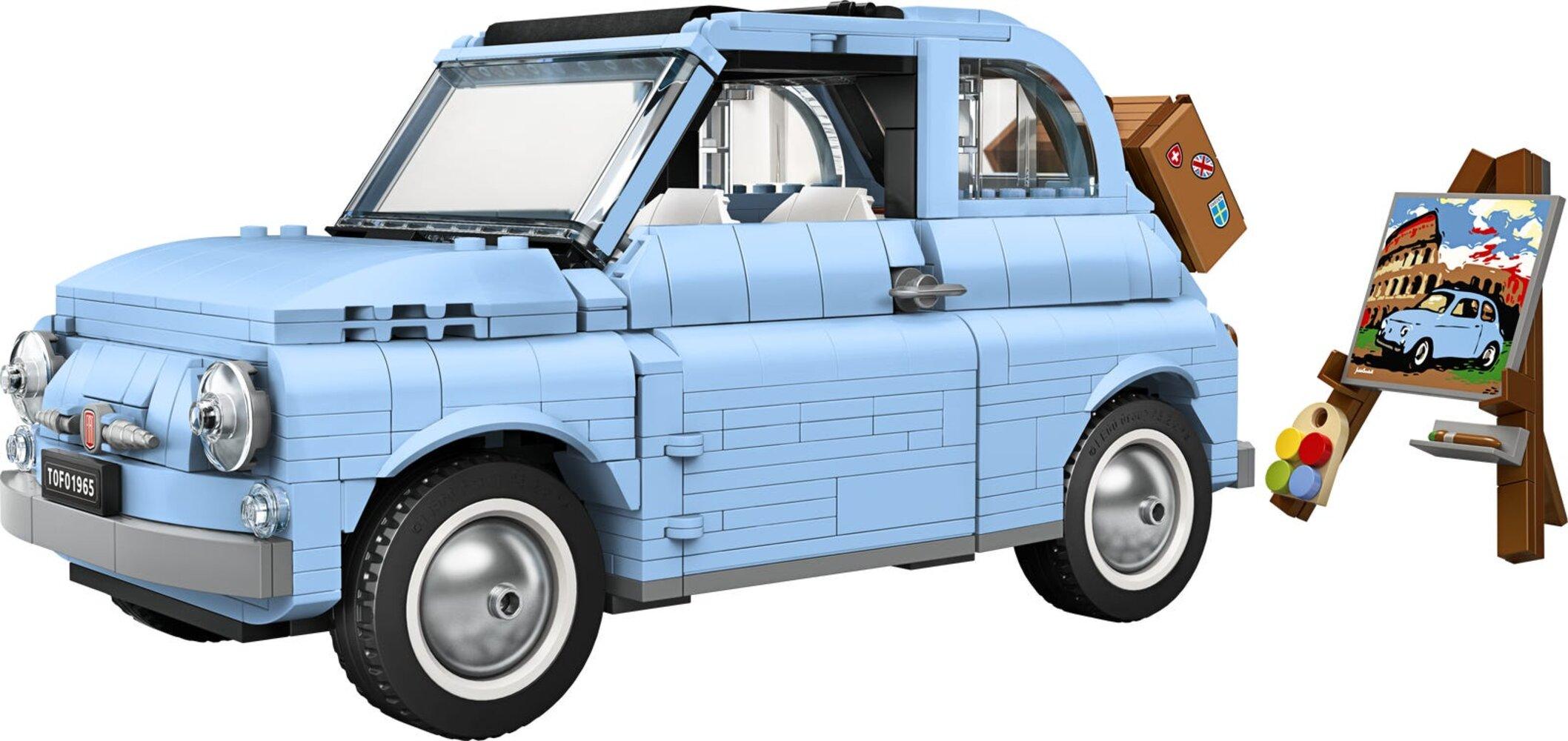Fiat 500 - Bright Light Blue Version