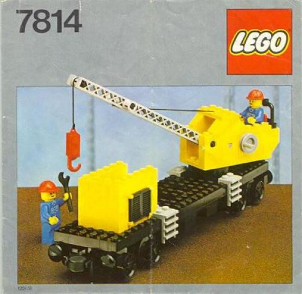 Crane Wagon with Small Container