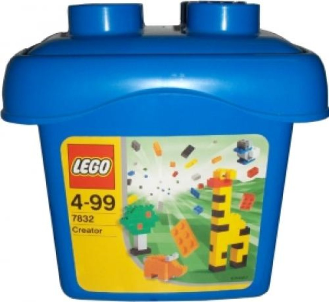 Small Blue Bucket