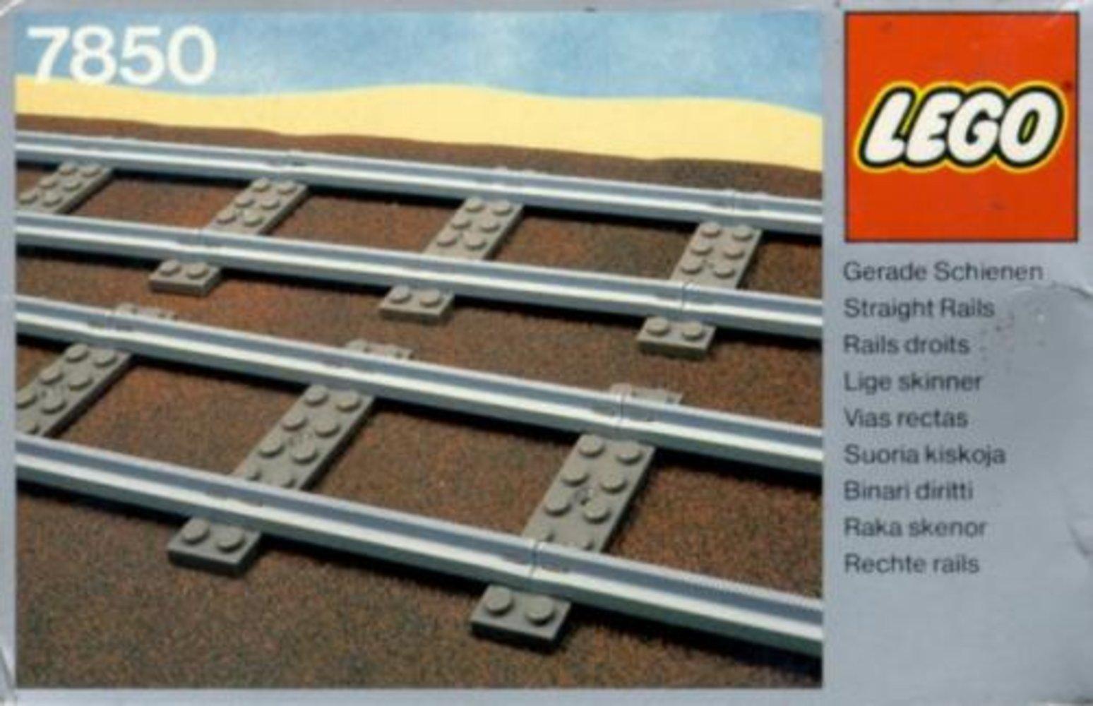 8 Straight Rails Gray 4.5v