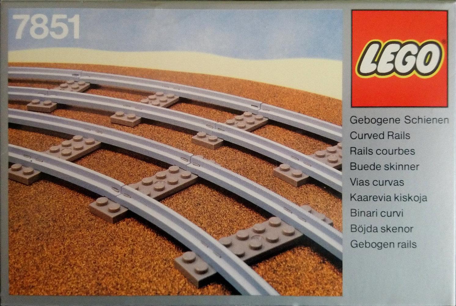 8 Curved Rails Gray 4.5v