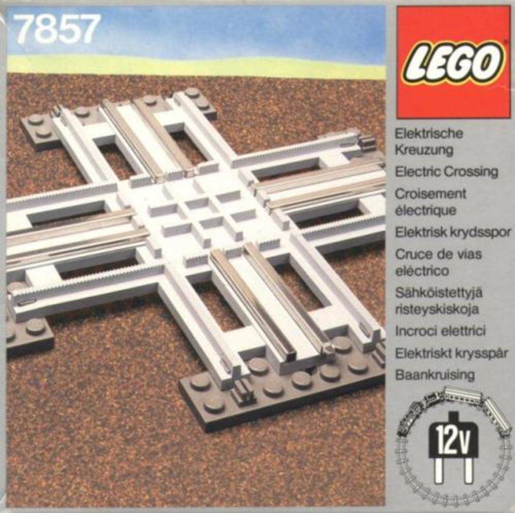 Crossing, Electric Rails Gray 12v