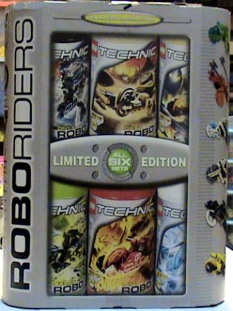 Exclusive RoboRiders Six Set Limited Edition Value Pack
