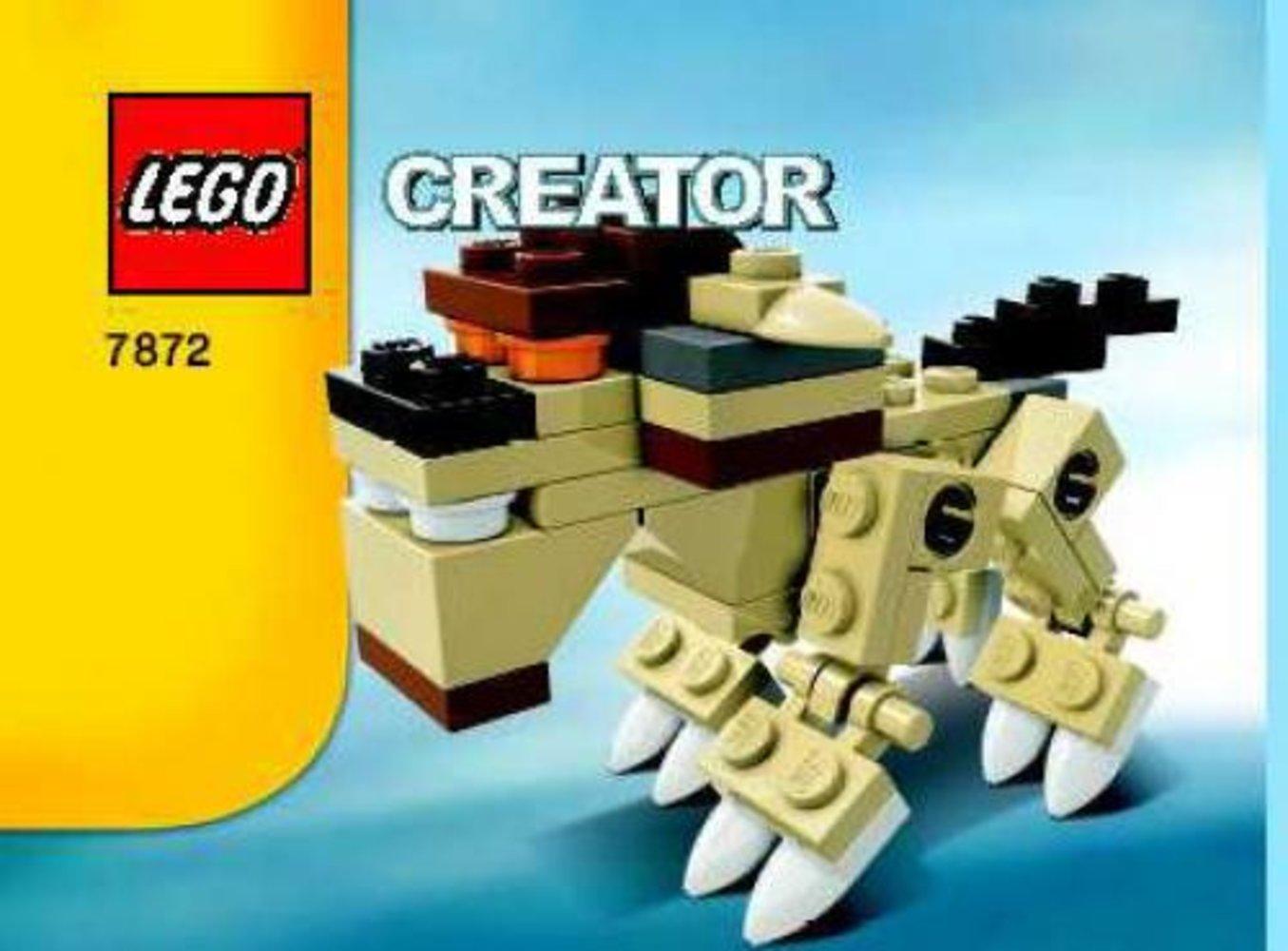 Lego Creator 7872 pas cher, Lion