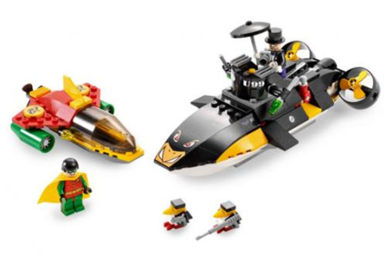 Robin's Scuba Jet: Attack of The Penguin