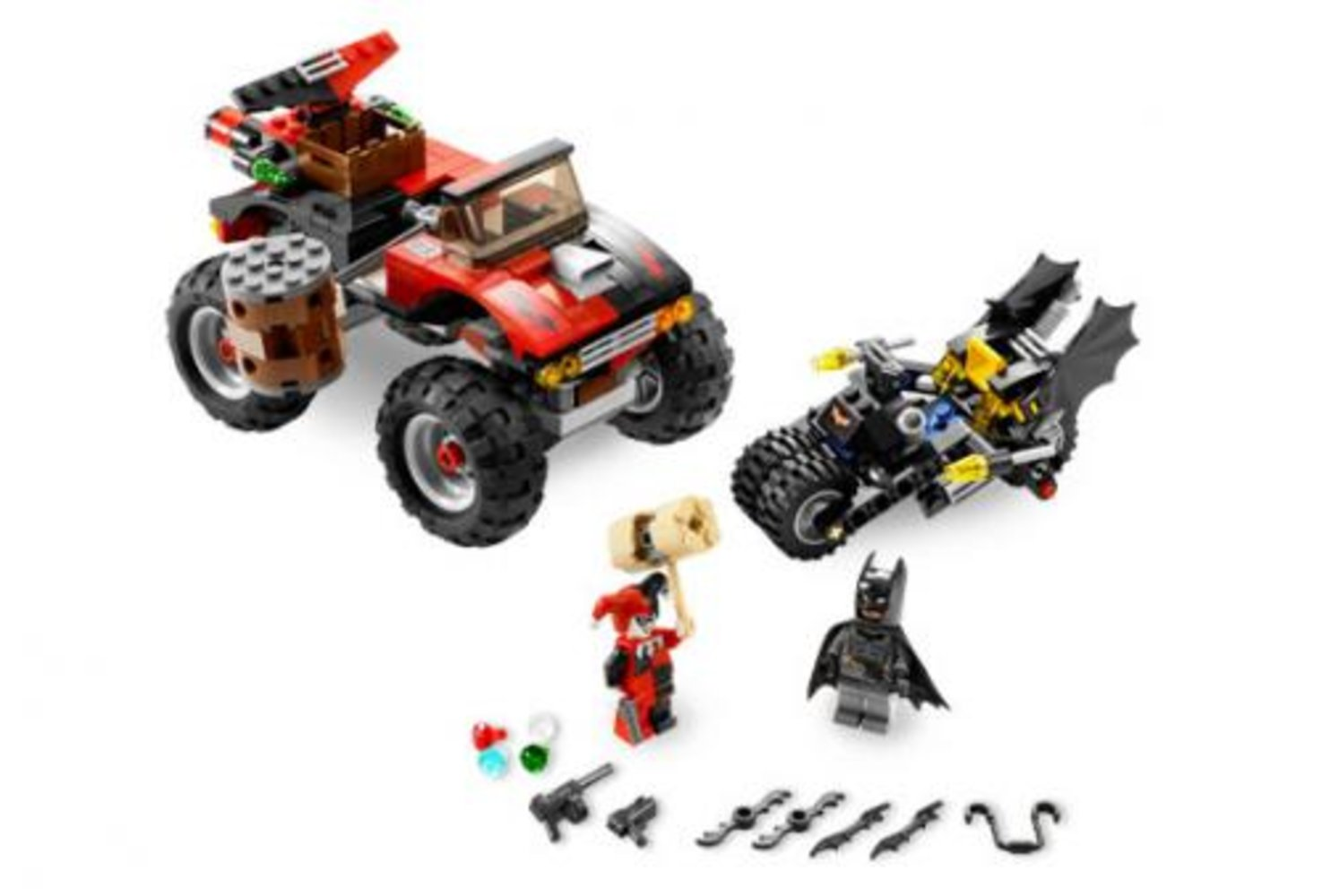 The Batcycle: Harley Quinn's Hammer Truck