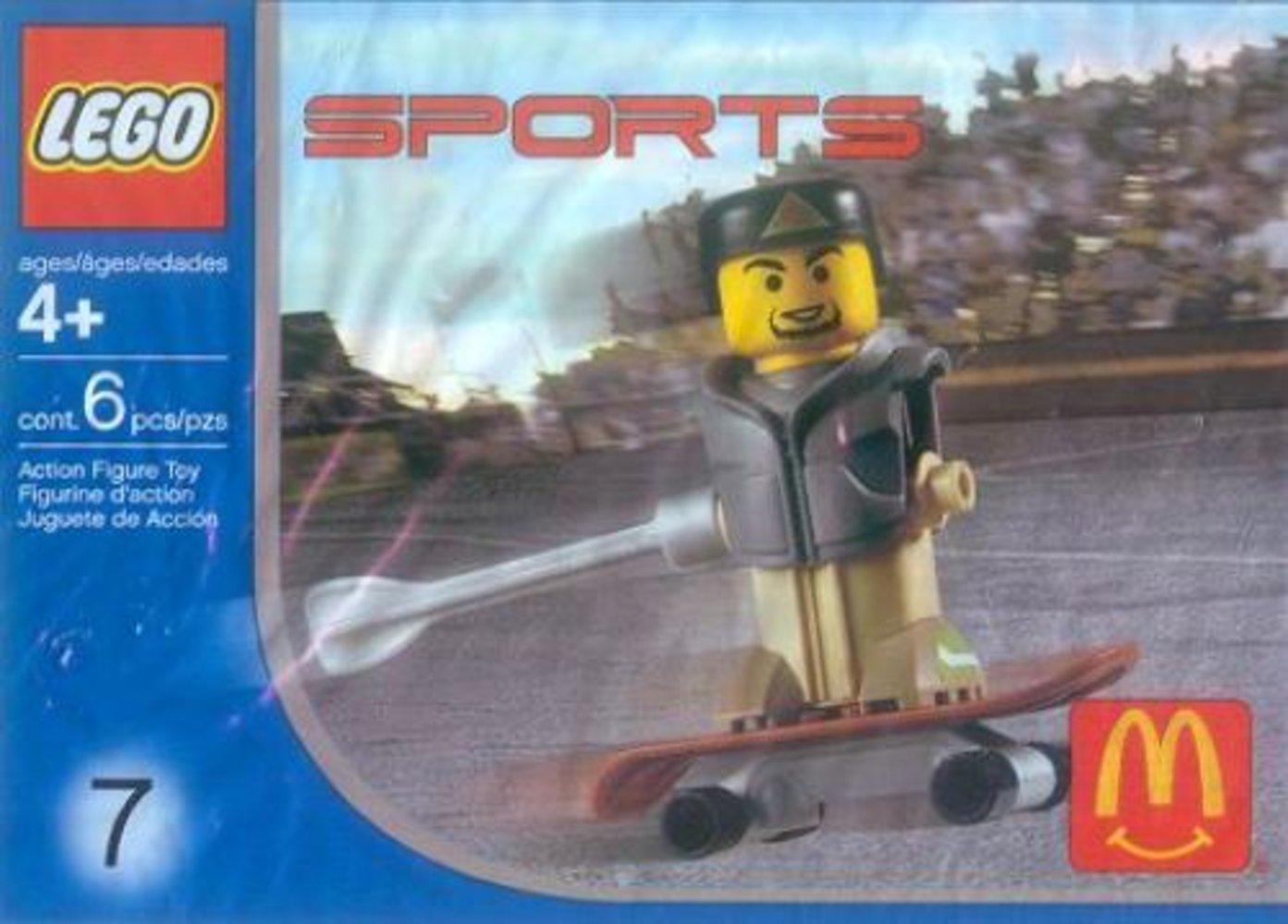 McDonald's Sports Set Number 7 - Gray Vest Skateboarder