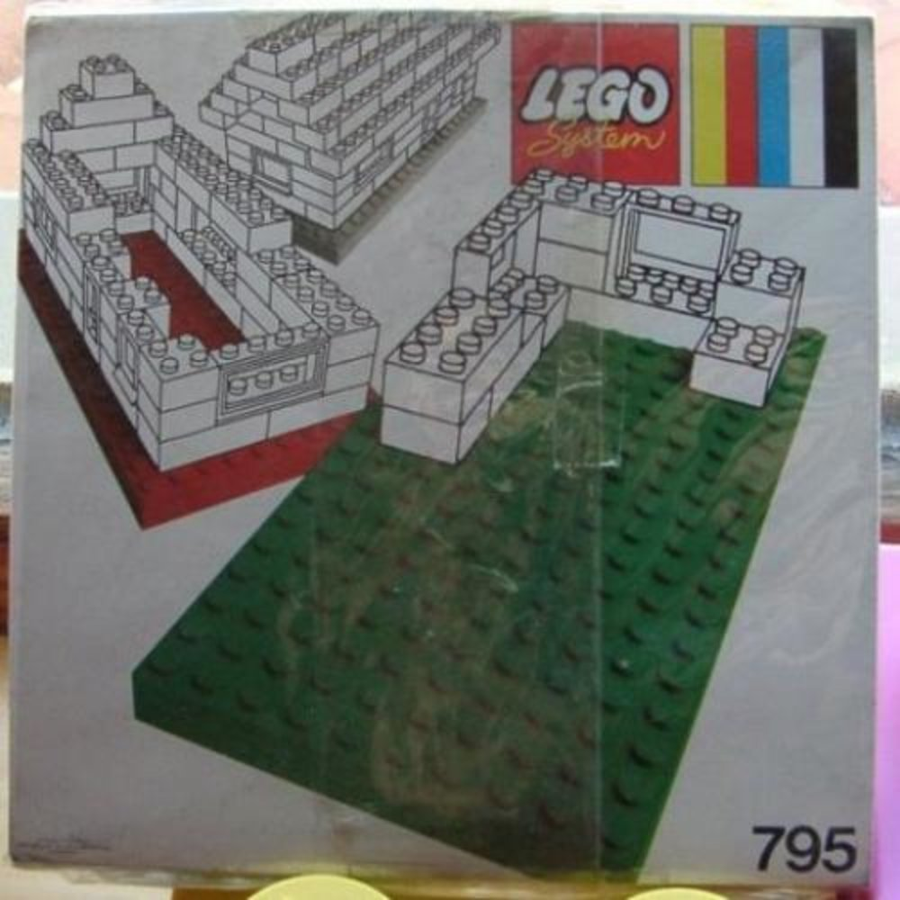 Baseplates, Red and Blue