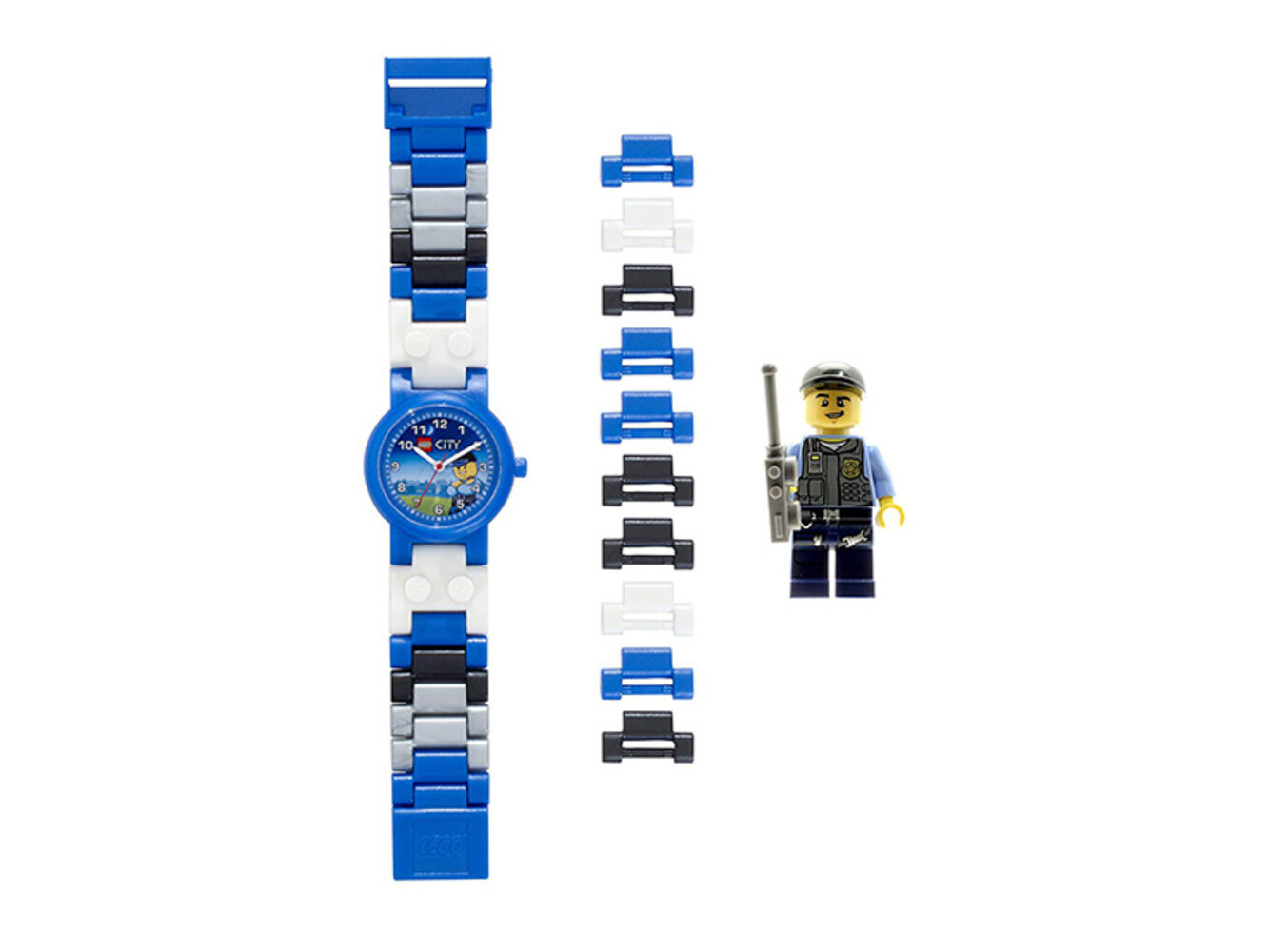 Special Police Buildable Watch with Toy