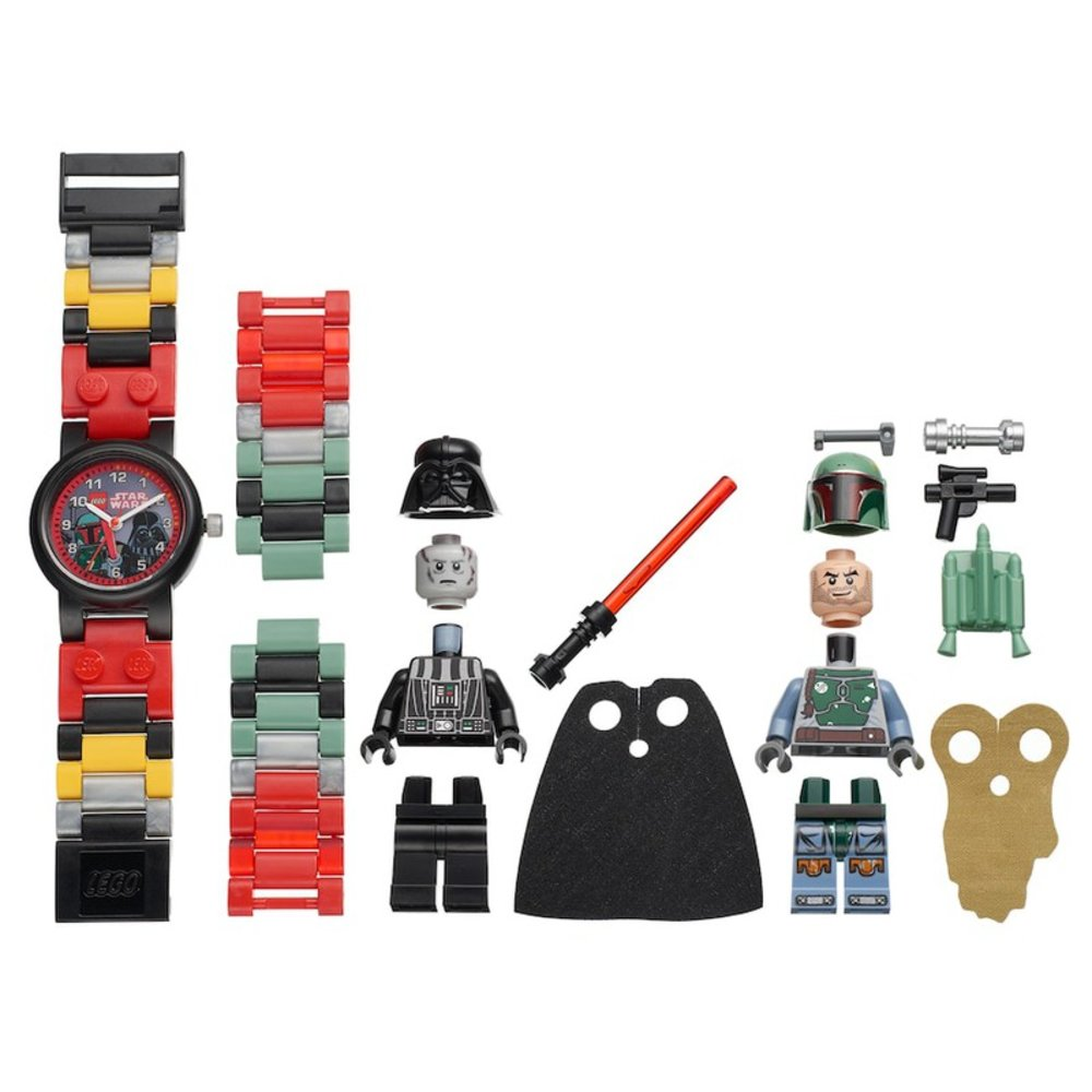 Darth Vader and Boba Fett Minifigure Link Watch