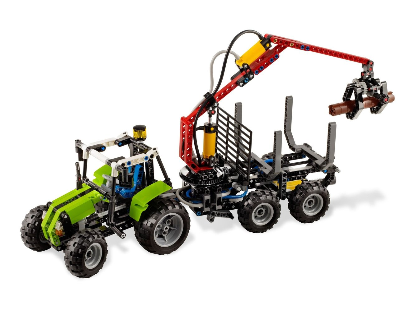 Tractor with Log Loader