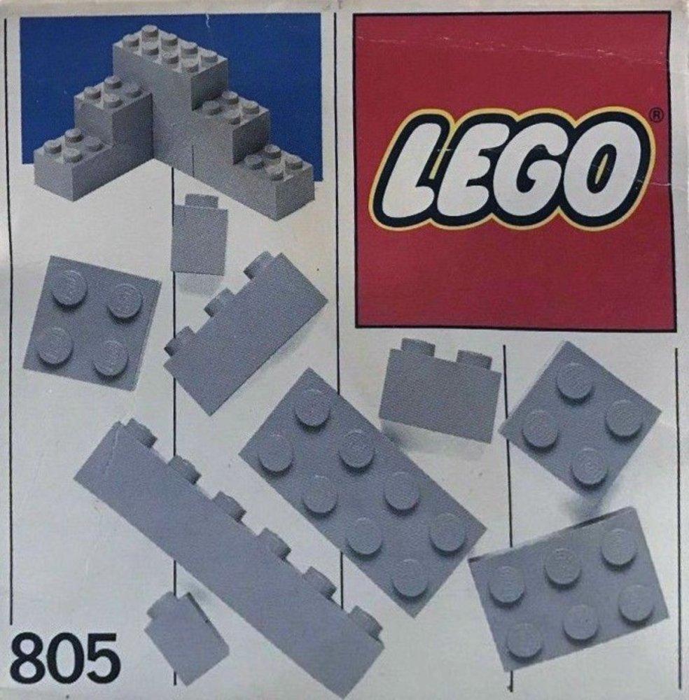 Extra Bricks Gray