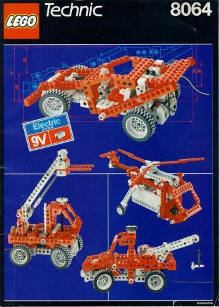 Motorized Universal Building Set