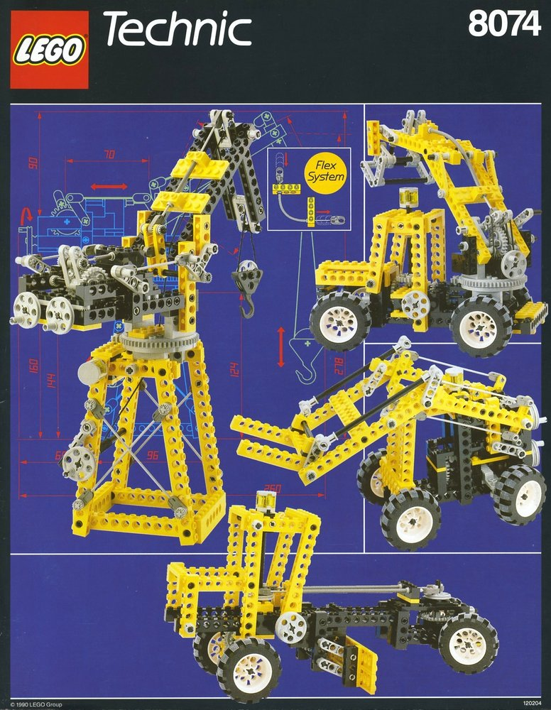 Universal Building Set with Flex System