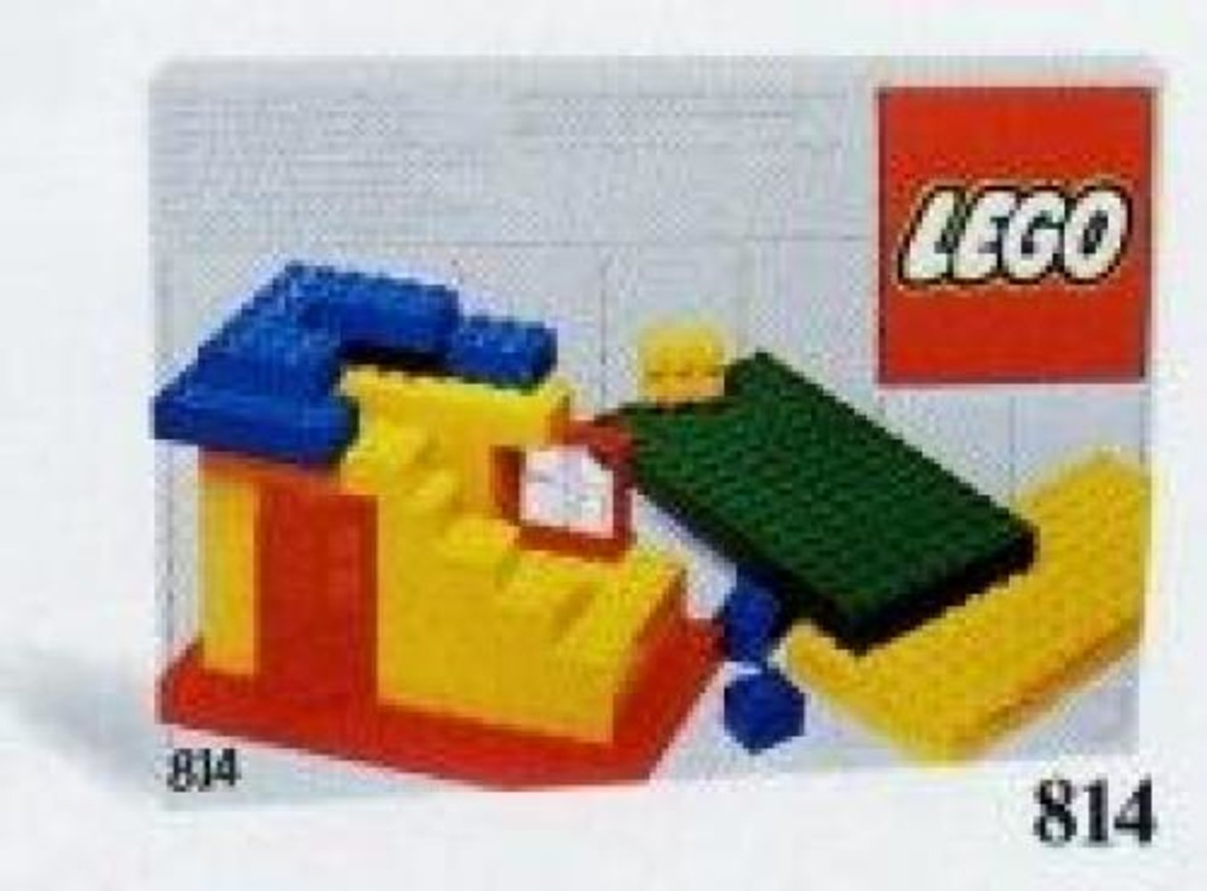 Baseplates, Green, Red and Yellow