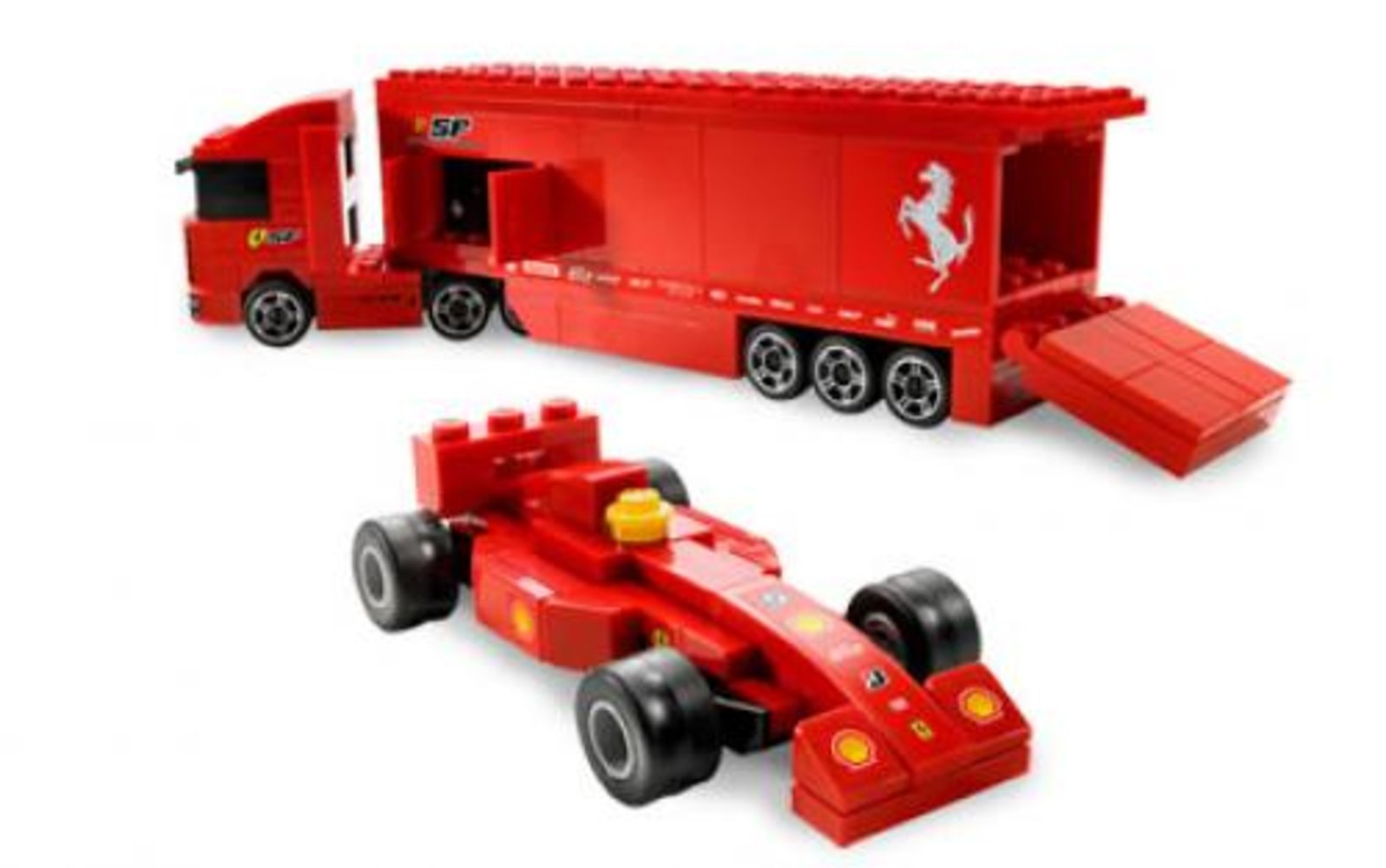 Ferrari F1 Truck 1:55