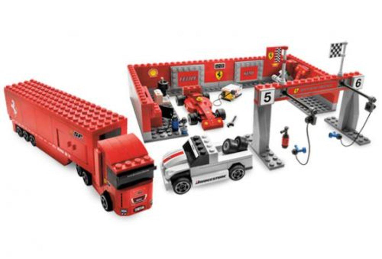 Ferrari F1 Pit 1:55