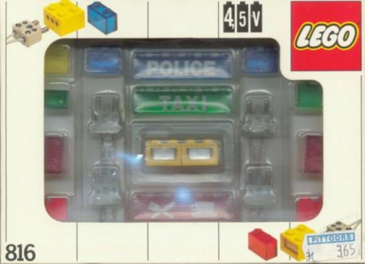 Lighting Bricks, 4.5V