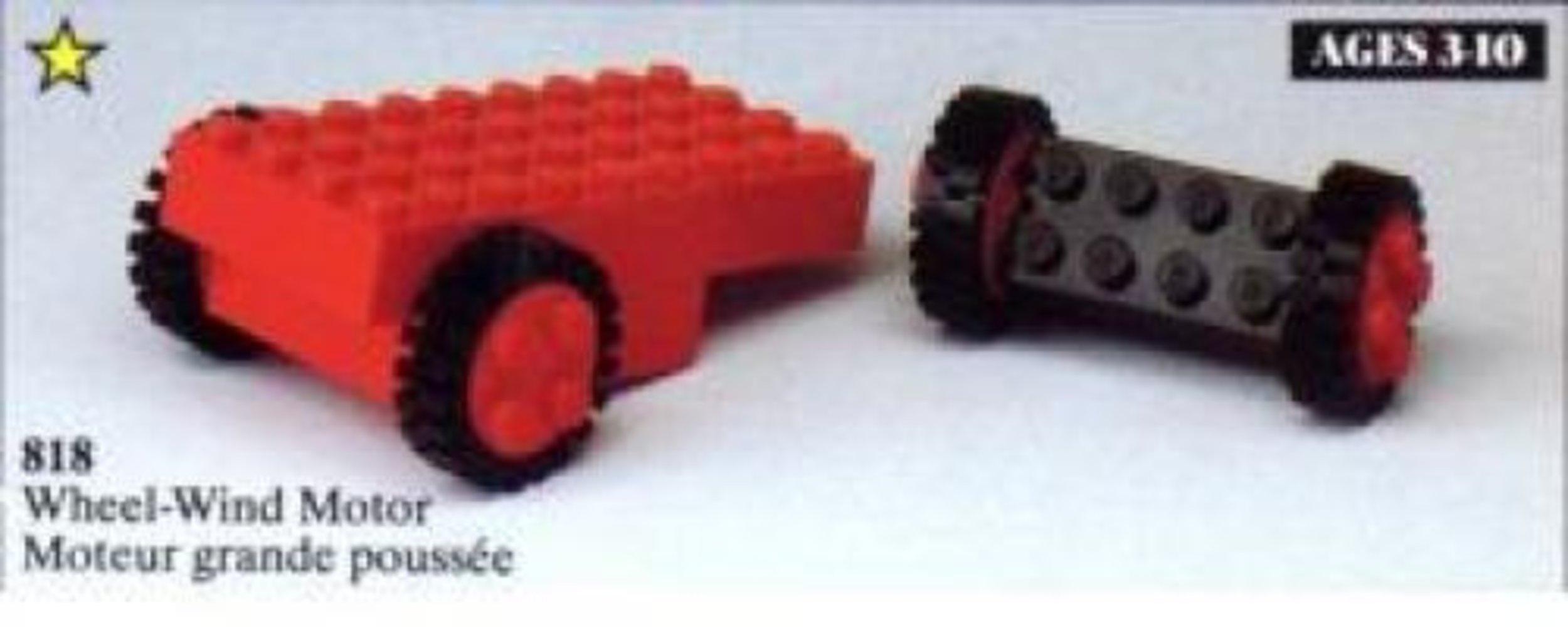Pullback Motor, Red