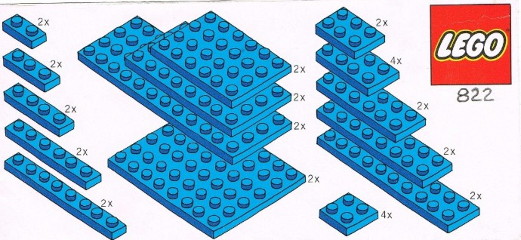 Blue Plates Parts Pack