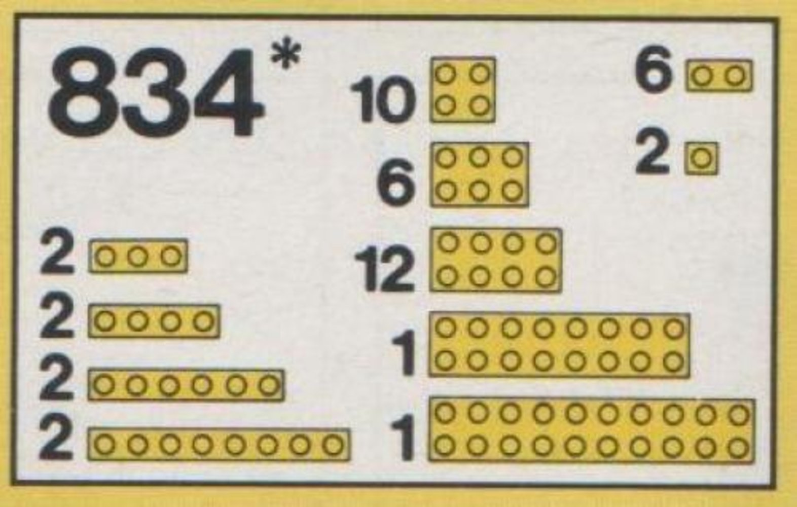 Yellow Bricks Parts Pack