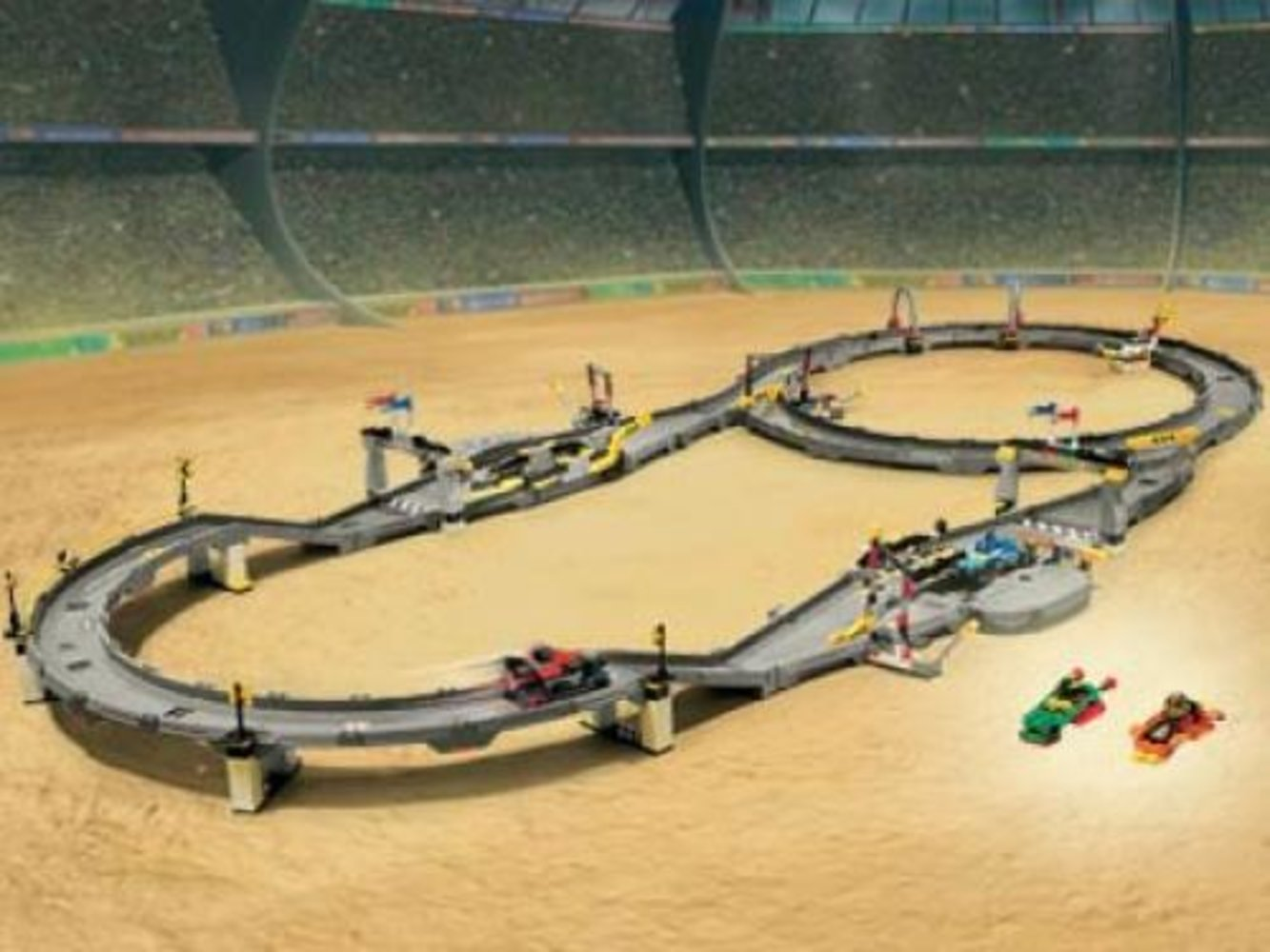 Multi-Challenge Race Track