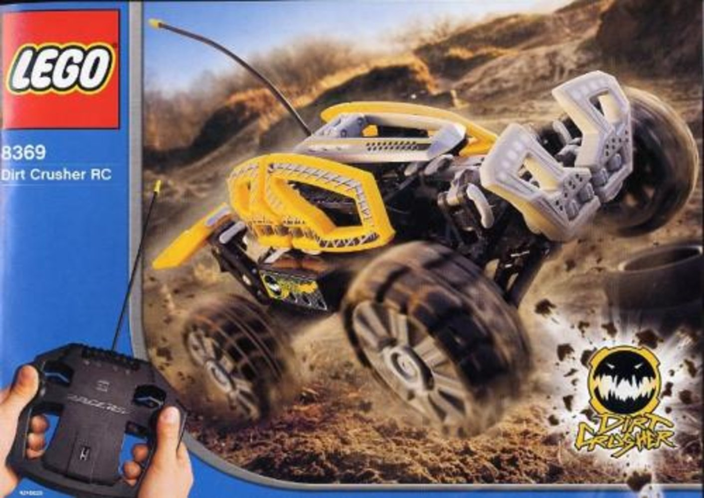 Dirt Crusher RC (Blue)