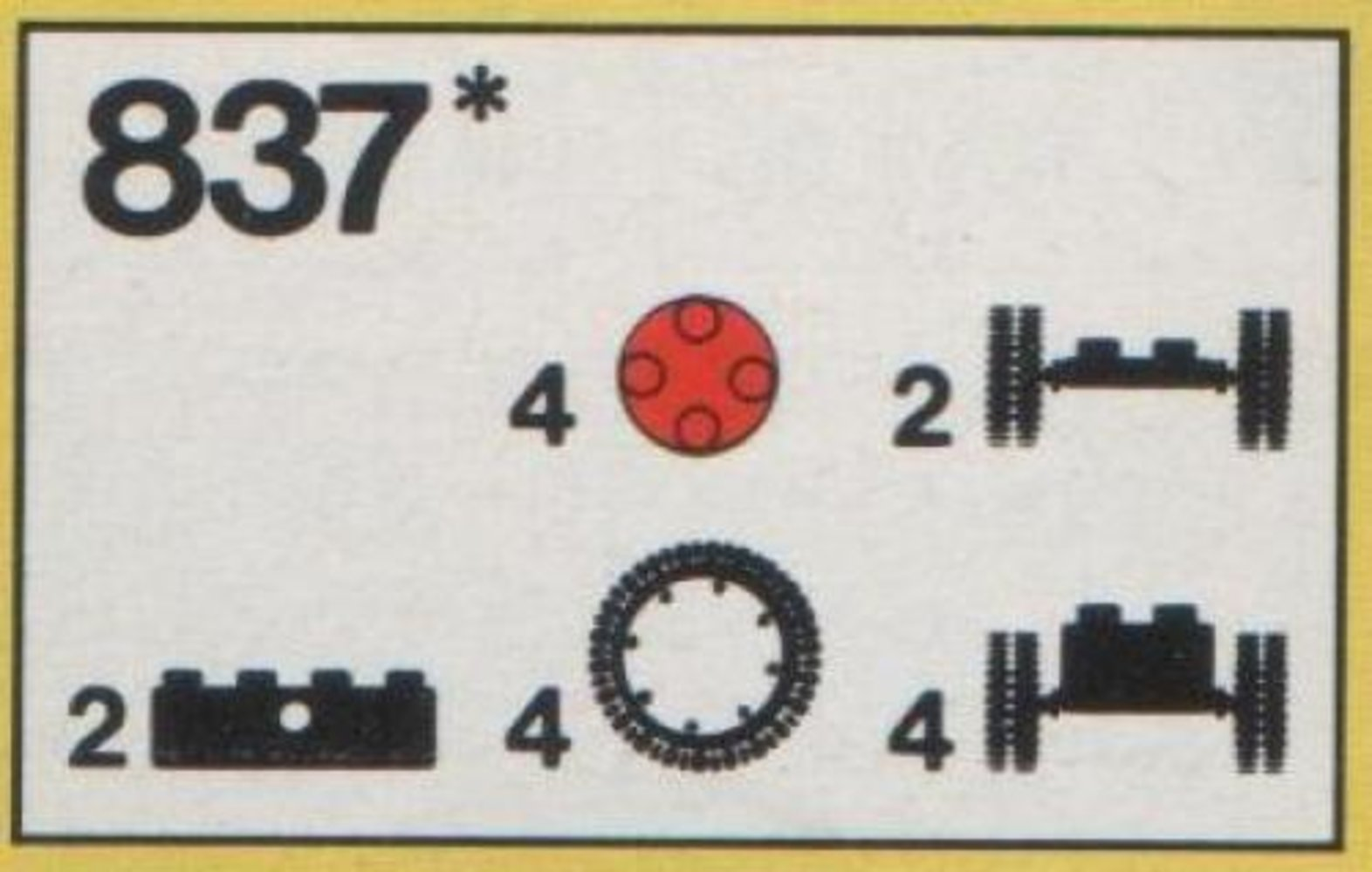 Wheels and Tires Parts Pack