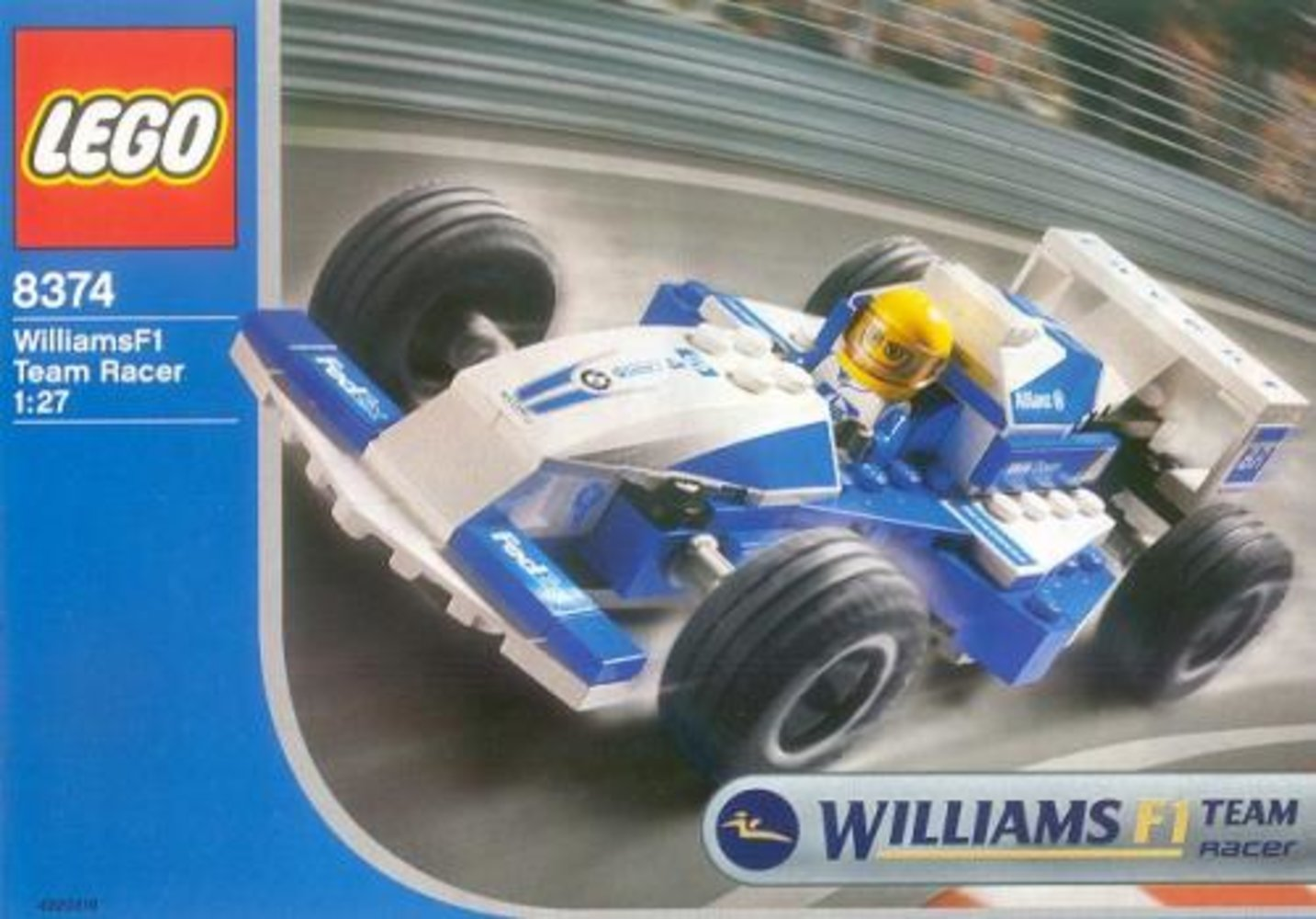 Williams F1 Team Racer 1:27