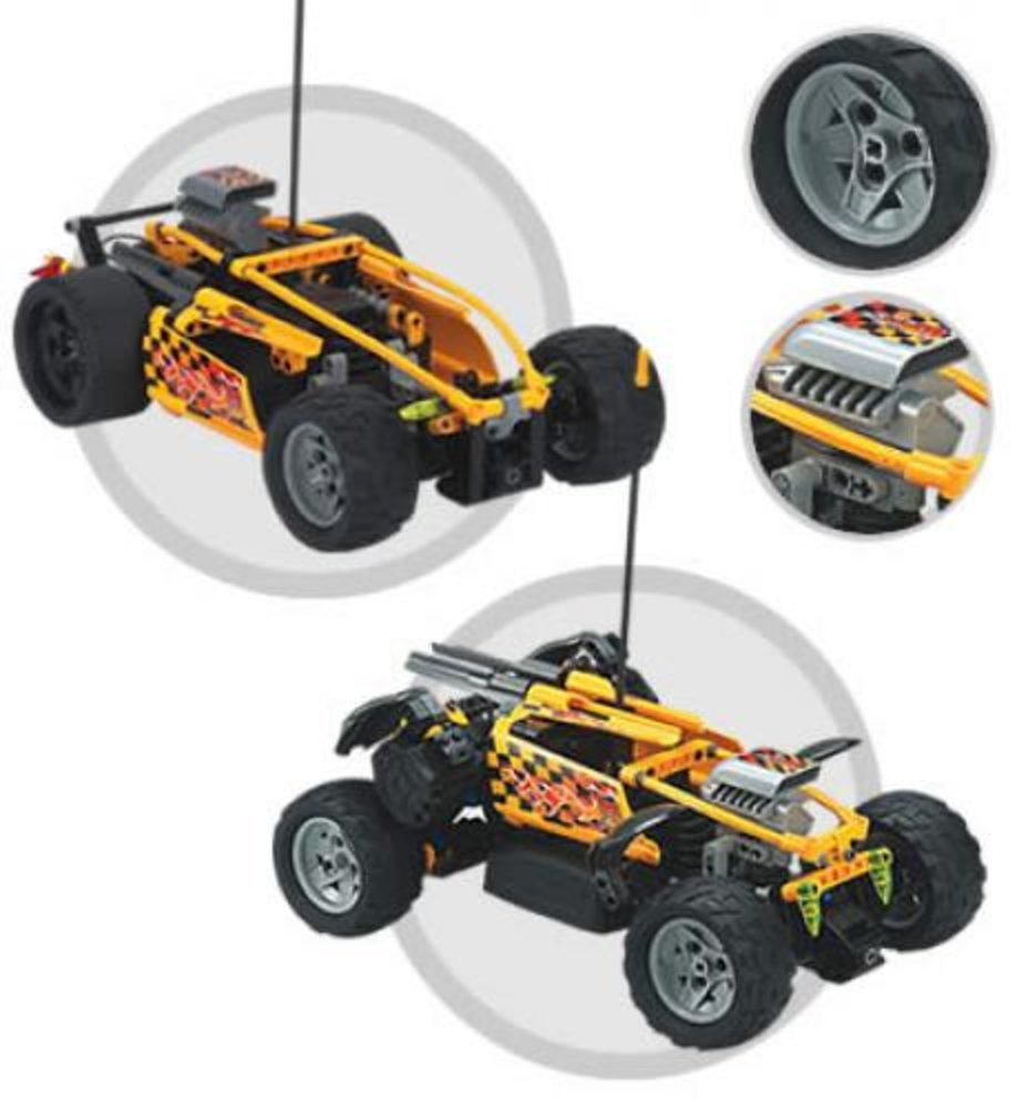 Hot Flame RC Car