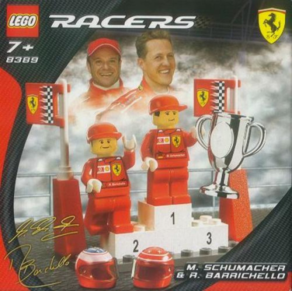 M. Schumacher and R. Barrichello